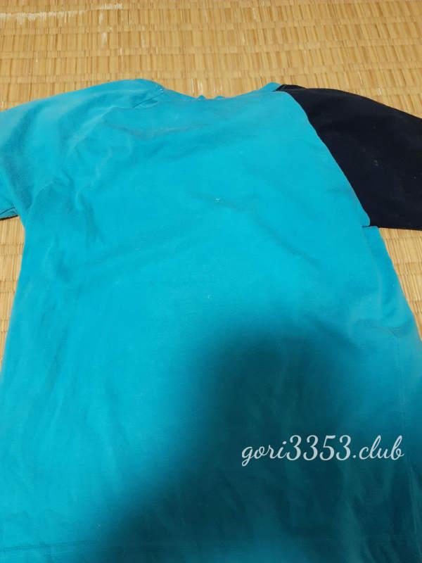 綿100%のTシャツを柔軟剤で再び洗濯