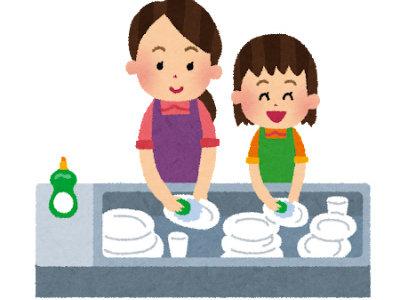 洗い物で袖が邪魔になる時の落ちないまくり方と袖カバーの話。